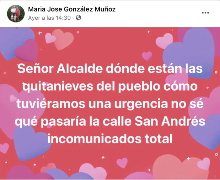 """5 mujeres se convierten en """"influencer"""" de Majadahonda generando 250 comentarios sobre la gestión del Ayuntamiento en la nevada"""