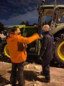 """La gestión del Ayuntamiento de Majadahonda """"hace aguas"""" con la nieve"""