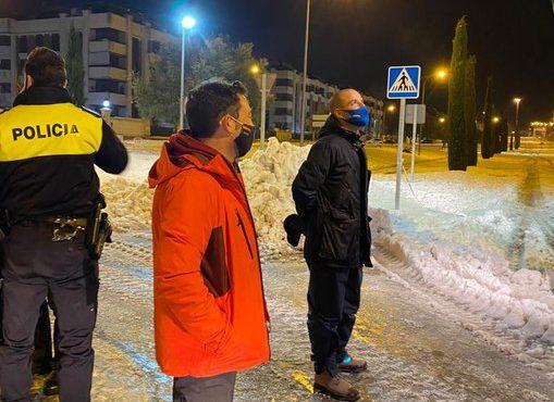 El Ayuntamiento de Majadahonda espera esparcir otras 100 toneladas de sal y anuncia una quitanieves cedida por Murcia