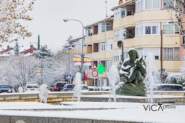 Las 20 espectaculares imágenes de Majadahonda nevada por el fotógrafo Camilo Narváez