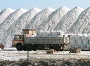 Majadahonda compra otras 1500 toneladas de sal a Torrevieja