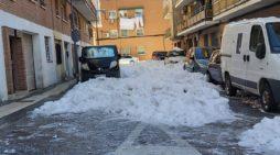 """El Duende Majariego: """"El centro de Majadahonda sigue colapsado 6 días después de la nevada"""""""