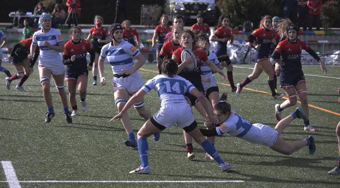 """Rugby Majadahonda: el femenino gana el derby al Olímpico Pozuelo pero admite que """"no mereció la victoria"""" y el masculino lo pierde """"pero aprende"""""""