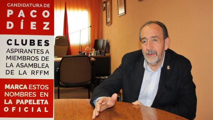 """At. Madrid denuncia al candidato Paco Díez y le desmiente su apoyo: una lista """"manipulada"""", según Peramós"""