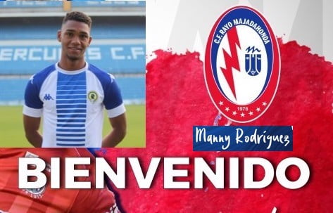 "Manny Rodríguez (Hércules CF), fichaje de última hora del Rayo Majadahonda ""sobre la bocina"""