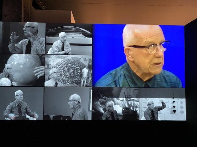 """Desde Majadahonda: Buckminster Fuller, olvidado y """"curioso impertinente"""" del Big Data, la Comunicación y la Educación"""