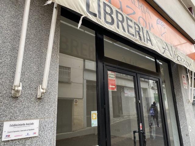 """Los impuestos del Ayuntamiento de Majadahonda """"ahogaron"""" a la Librería Altazor y la abocaron al cierre"""