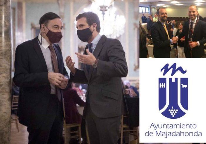 """Pedro Jota asegura que Pablo Casado le ha prometido """"erradicar"""" a Vox del Gobierno del PP en Majadahonda"""