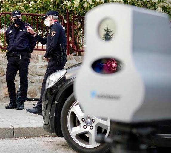 El Ayuntamiento de Majadahonda instala un radar móvil por 15.000 € y gasta otros 15.000 € en un informe