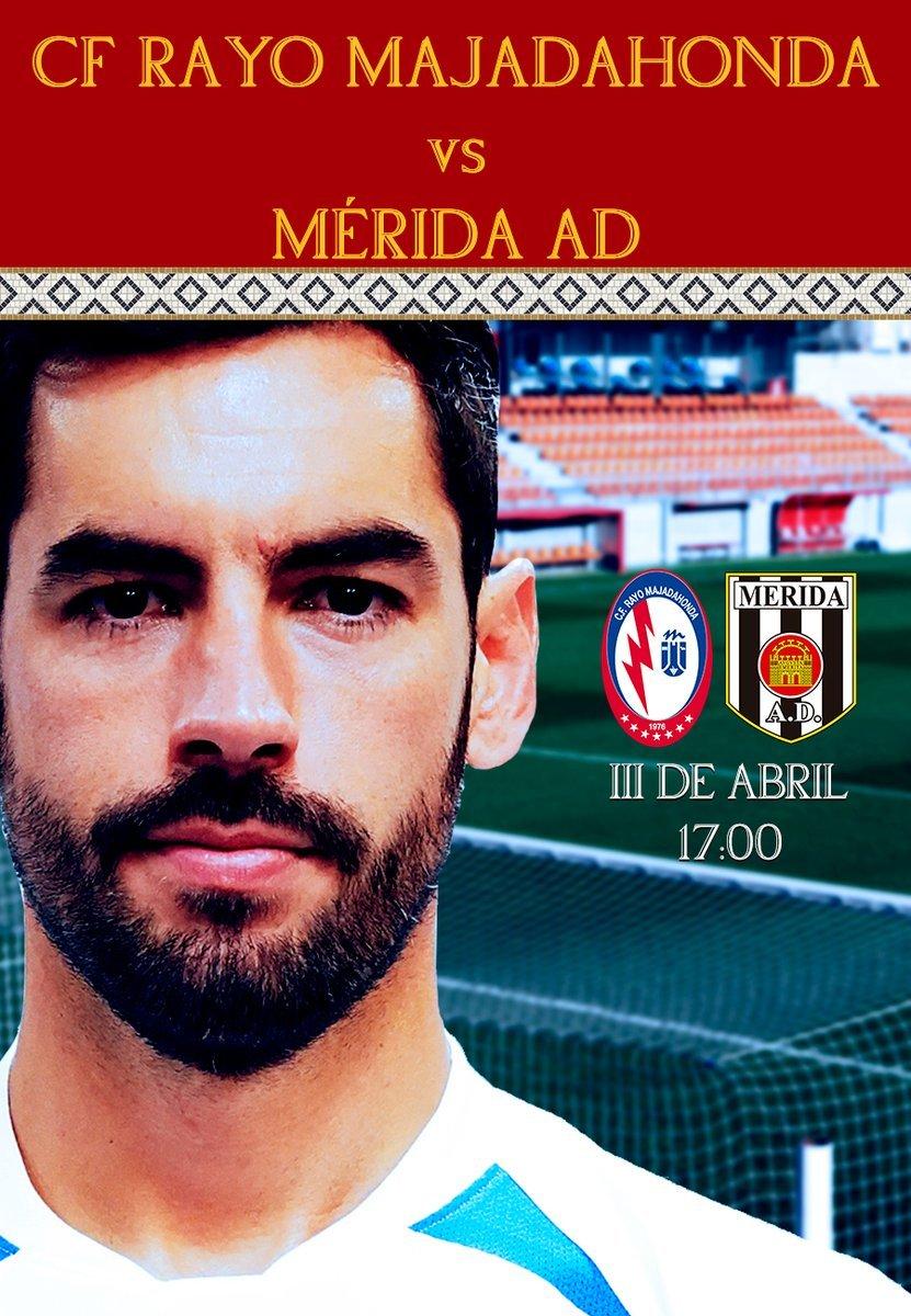 Rayo Majadahonda defiende contra el Mérida su liderato de la Segunda Fase
