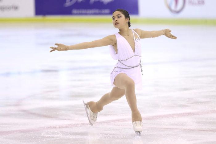 Campeonato de España Patinaje Hielo 2021 (fotos): Marian Millares obtiene oro y los demás patinadores de Majadahonda el reconocimiento