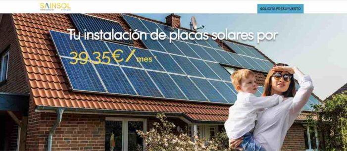 Urbas compra la compañía de placas solares Sainsol Energía (Majadahonda) que facturó 100.000 € en 2019