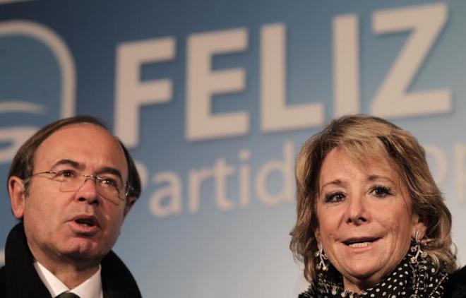 Esperanza Aguirre declara: Pío García Escudero fue quien nombró a los alcaldes corruptos del PP en Majadahonda, Pozuelo y Boadilla
