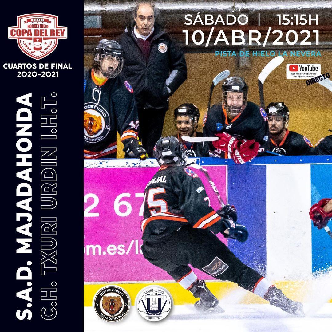 Hockey Hielo: SAD Majadahonda se saca la espina de la atípica temporada 20/21 con una victoria ante Txuri Urdin por 4-1