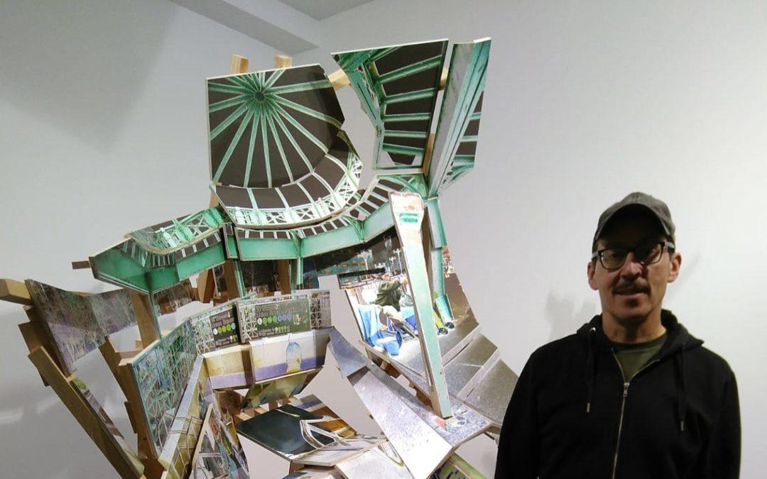 El artista Isidro Blasco regresa tras 25 años desde Nueva York a Majadahonda y abre el taller de cerámica de sus padres Arcadio y Carmen Perujo