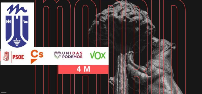 Los secretos de las listas autonómicas de Cs, PSOE, Vox y Unidas Podemos (4-M): influencia en Majadahonda