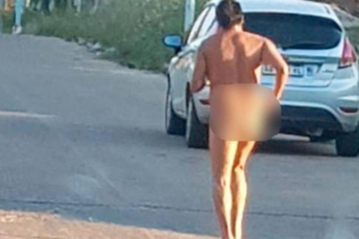 Guardia Civil detiene a un hombre que corría desnudo por las calles de Majadahonda