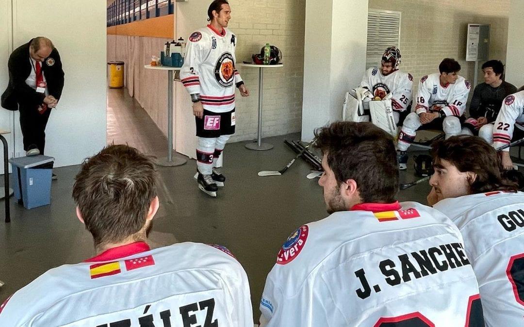 "Hockey Hielo: Karlos Gordovil valora la temporada del SAD Majadahonda tras perder las ""semis"" ante Barsa"