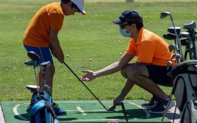 Majadahonda y Oeste: GymGolf lleva en bus a los niños al club de Villanueva de la Cañada para practicar deportes en verano