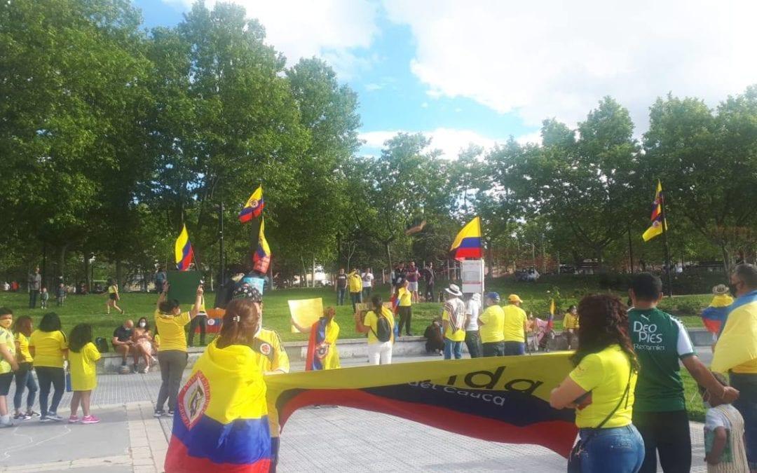 IU apela a los 800 colombianos y 10.000 extranjeros que viven en Majadahonda y pide una condena del Ayuntamiento