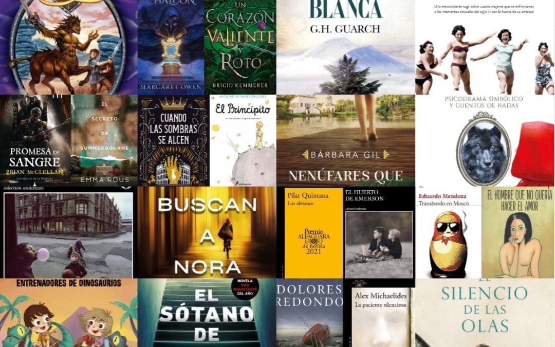 Recomendaciones de lecturas para mayo 2021 de Librería JJ Majadahonda: novedades en libros infantiles, juveniles y para adultos