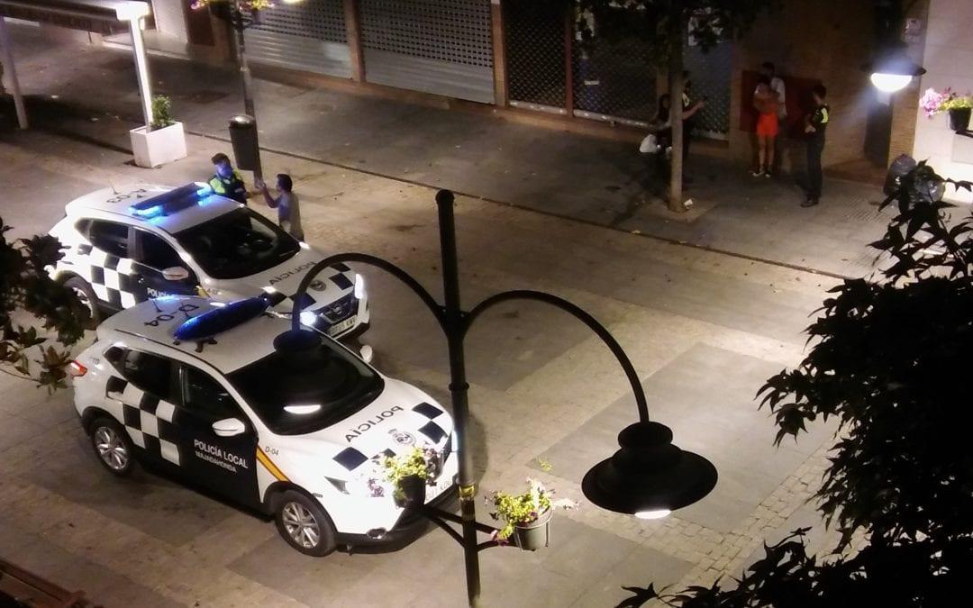 """Violencia, alcohol y agresión a una mujer en la Gran Vía de Majadahonda durante otra noche """"caliente"""""""