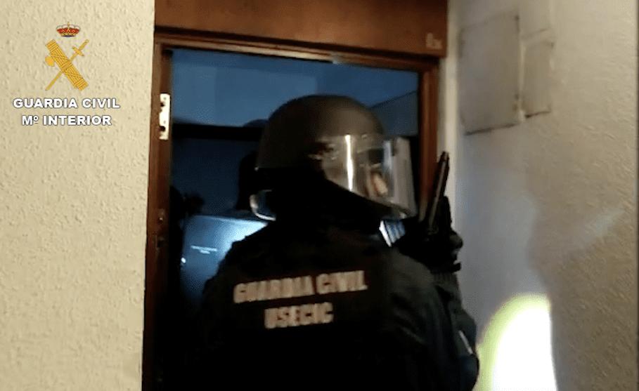 Guardia Civil y Policía Judicial de Majadahonda detienen al dominicano que asaltaba ancianas de 70 a 90 años en sus casas
