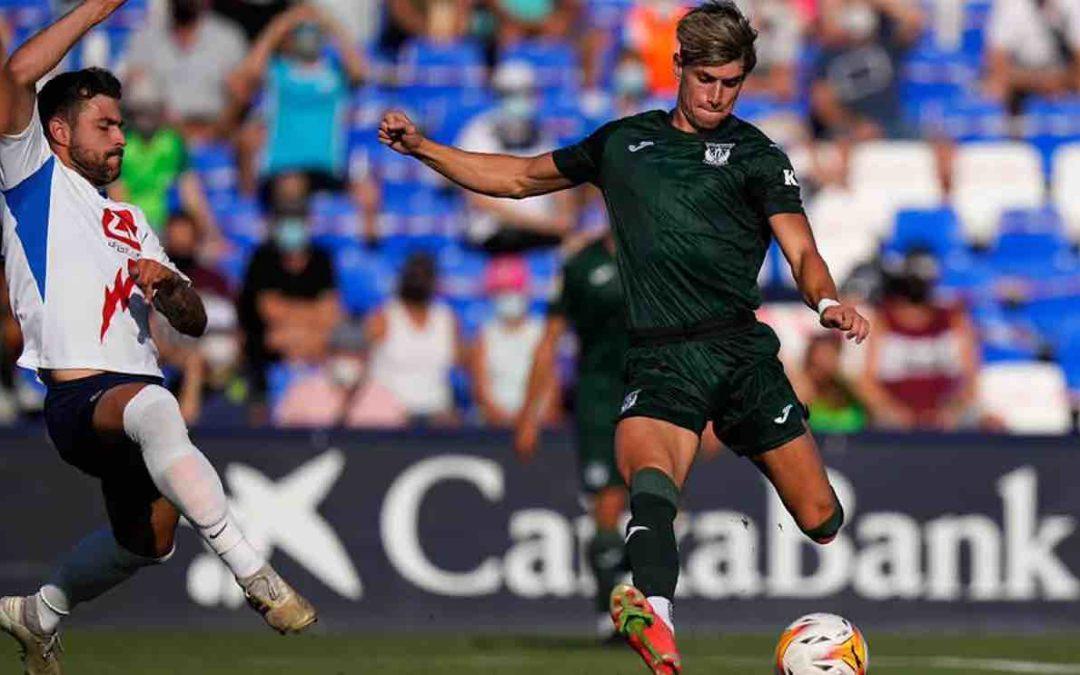 Rubén Sánchez y Susaeta destacan en el Rayo Majadahonda pese a la derrota en Leganés (2-1)