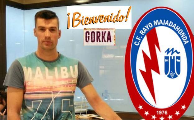 Fichaje: Gorka, un portero donostiarra de 25 años y 1,90 metros, nuevo jugador del Rayo Majadahonda