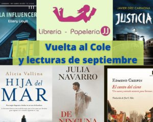 Vuelta al Cole y lecturas de septiembre