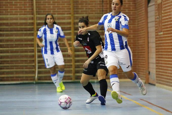 Fútbol Sala Femenino Majadahonda gana el «derby» en Leganés (3-5) con críticas al Ayuntamiento: «dan ganas de salir corriendo»
