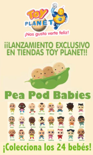 Toy planet Pea Pod Babies 2019